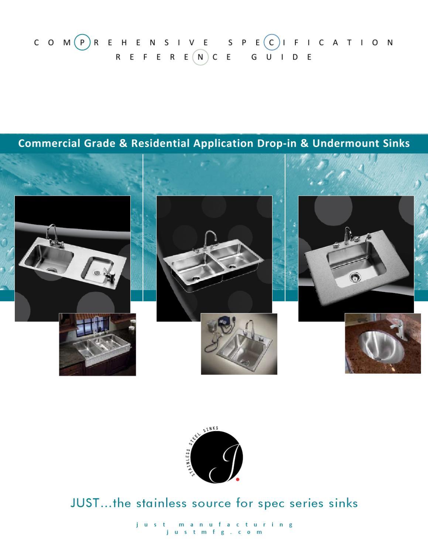 Just Commercial Grade U0026 Residential Application Drop In U0026 Undermount Sinks  By Rachel Collins   Issuu
