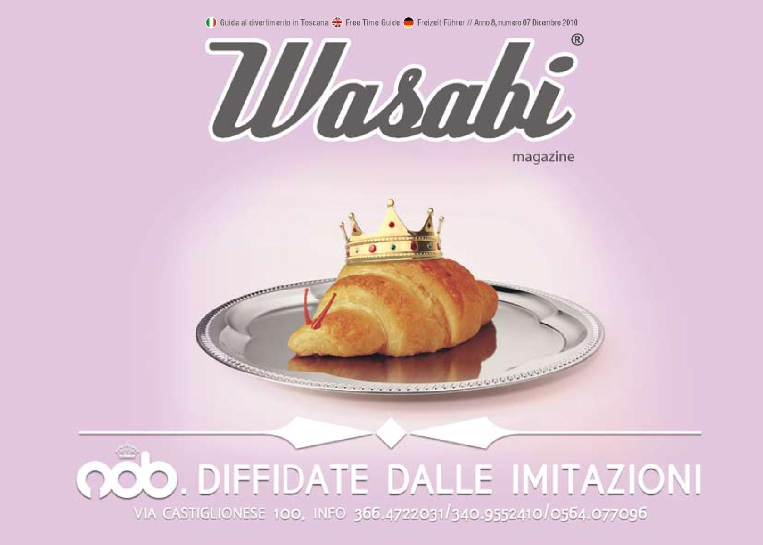 By Dicembre Mag Issuu Massimiliano Rossi 2010 Wasabi qRt5dwR