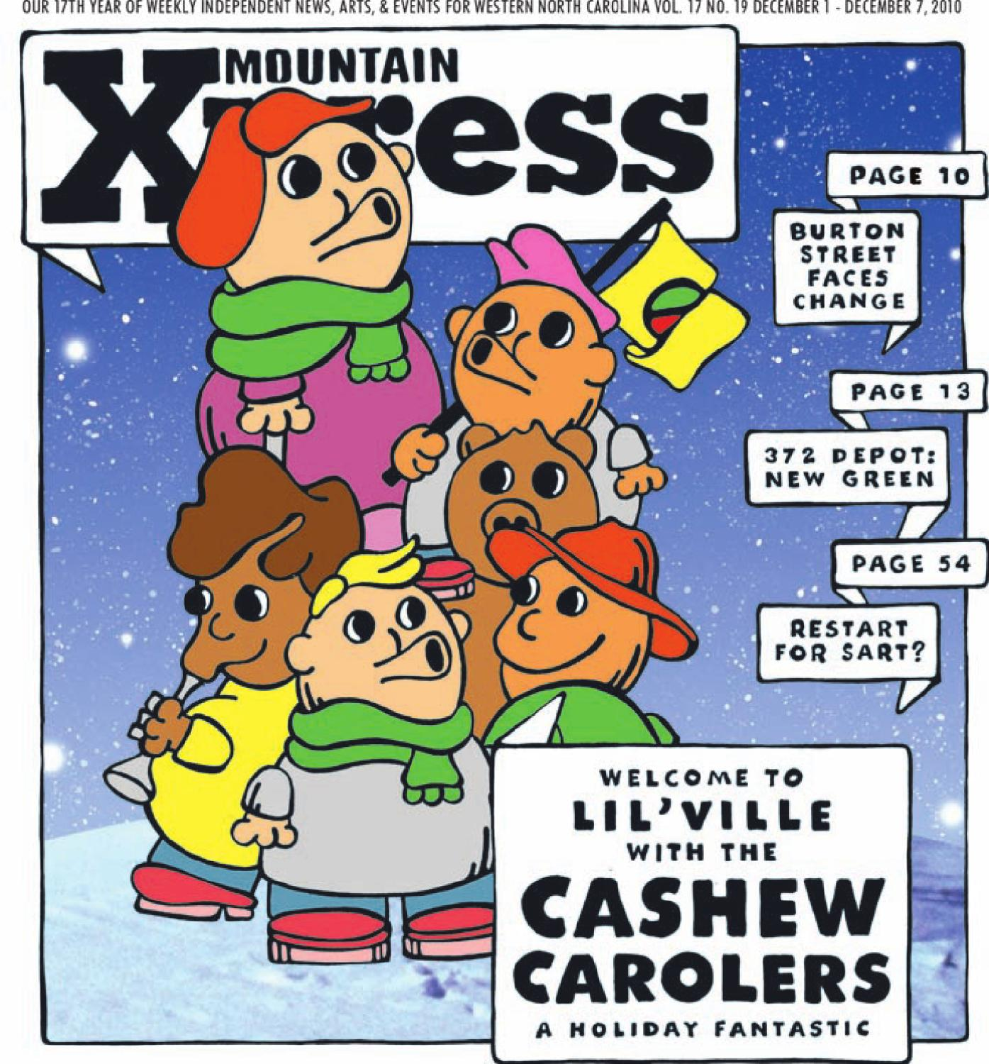 a2b30a45d17ae Mountain Xpress, December 1 2010 by Mountain Xpress - issuu