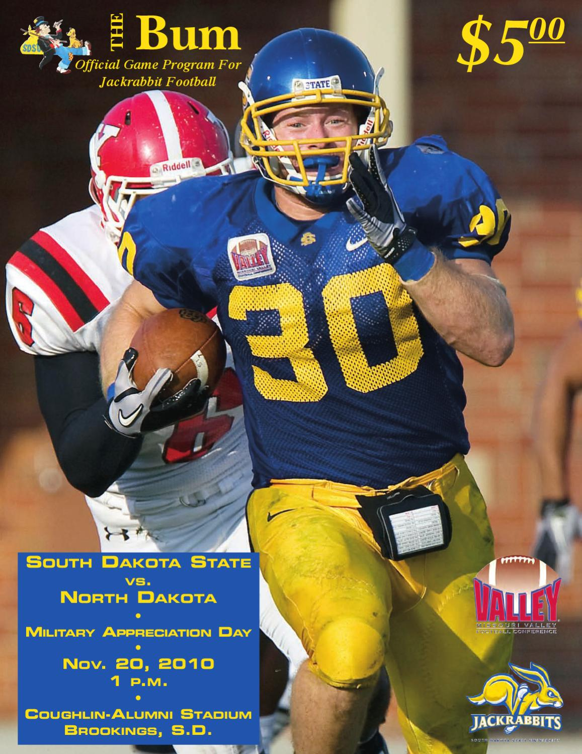 south dakota state football program 11 20 2010 by south dakota
