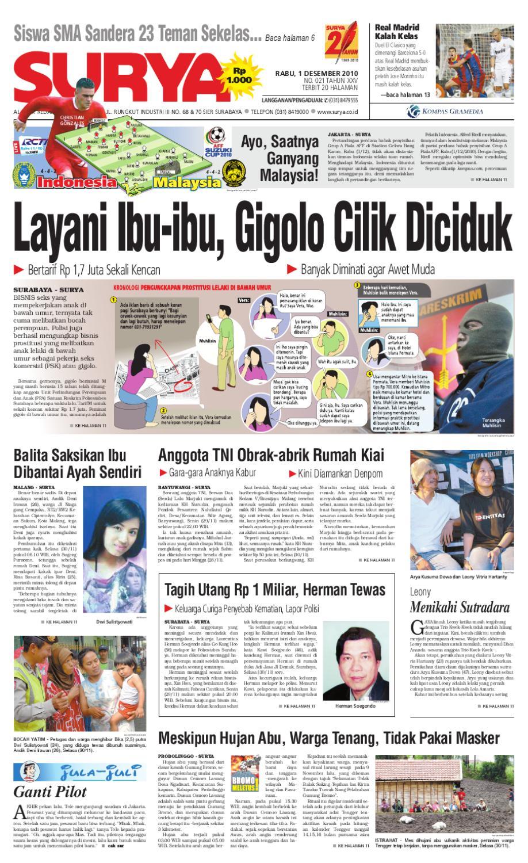Surya Edisi Cetak 01 Desember 2010 By Harian Issuu Produk Ukm Bumn Wisata Mewah Bali 3hr 2mlm