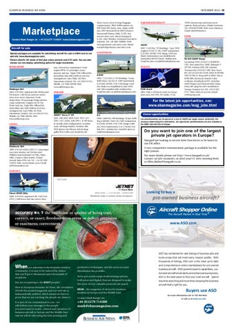 European Business Air News December 2010 By Stansted News Limited