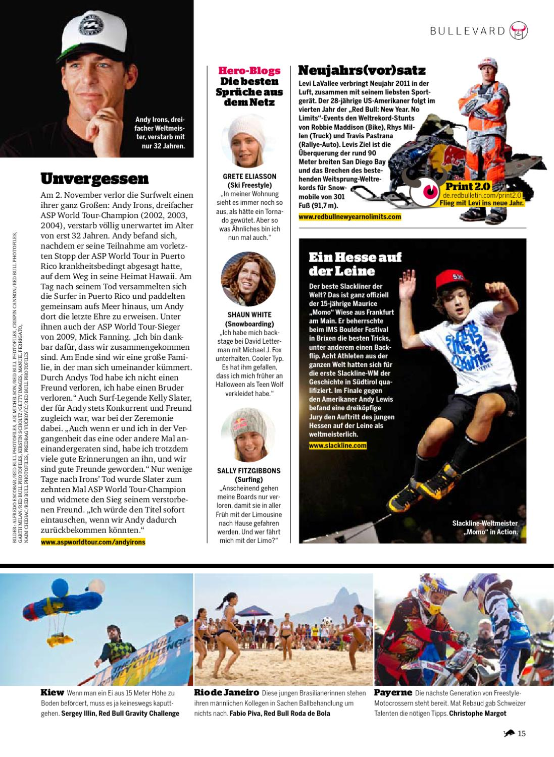The Red Bulletin1210at By Red Bull Media House Issuu