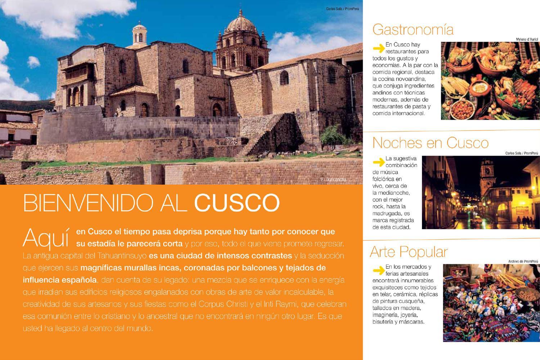 Folleto De Cusco By Wilfredo Miranda Issuu