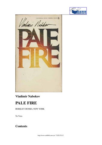 Pale Fire by Andrew Sorgie - issuu