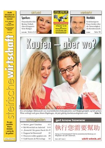 Steirische Wirtschaft Ausgabe 37 By Wirtschaftskammer Steiermark
