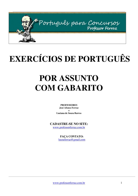 Apostila de Língua Portuguesa para Concursos by Bruna Lombarden - issuu