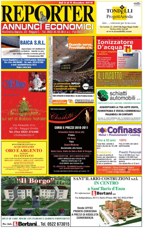 Reporter Annunci 21 Maggio 2010 by Reporter issuu