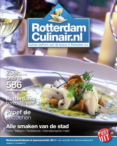 12281dde5f6 Rotterdam Culinair Jaaroverzicht by Sabine Bregman - issuu