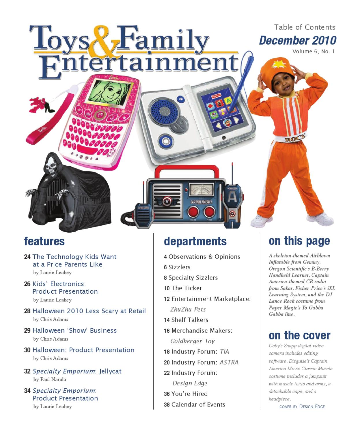 Toys & Family Entertainment, December 2010 by aNb Media - issuu