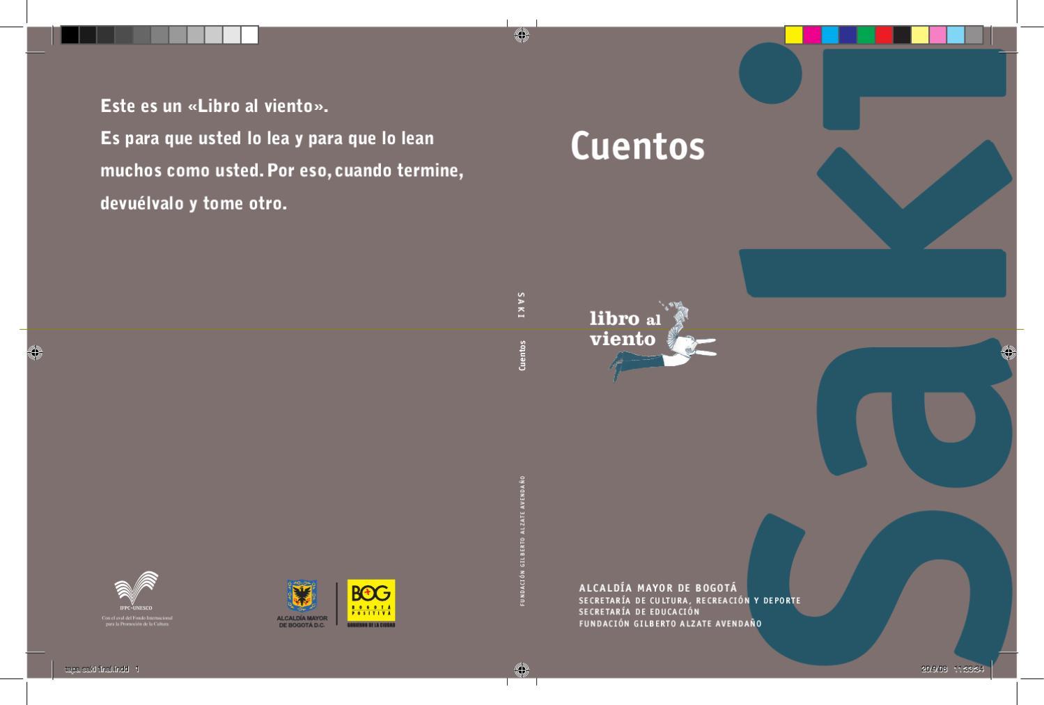 8164e09281 Cuentos de Saki by felipe castillo - issuu