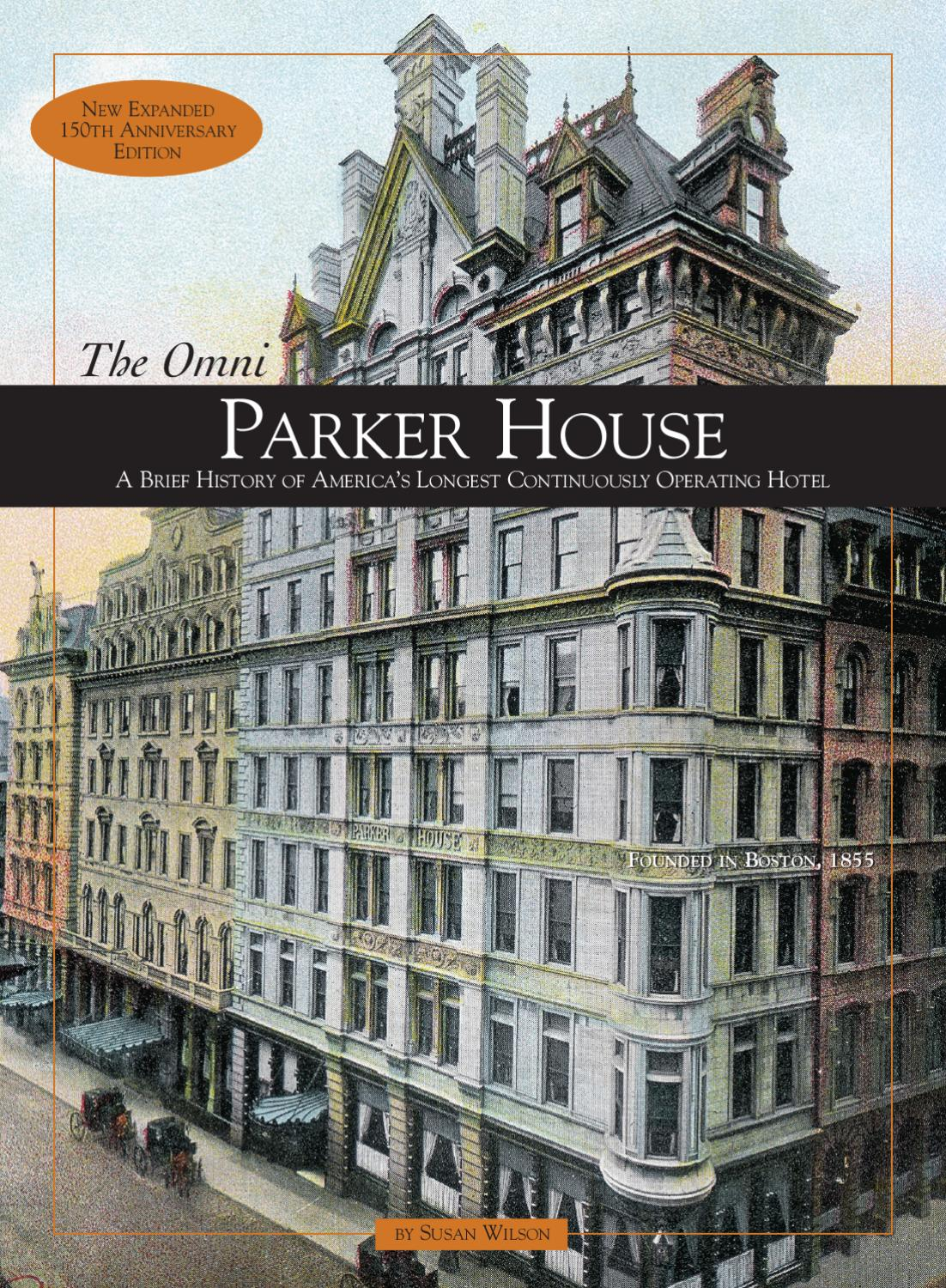 Omni Parker House Hotel Book By Nieshoff Design Issuu