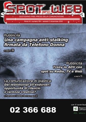 Pubblicita Buon Natale Numero 7.Spot And Web N 194 Del 3 Dicembre 2010
