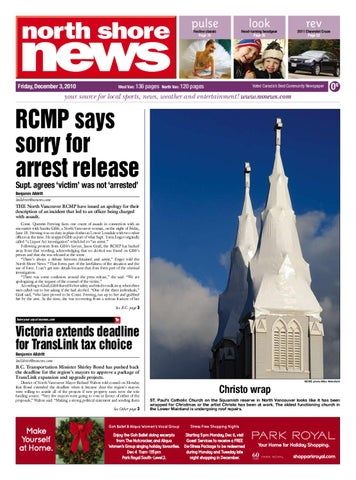 4c6147a69af North Shore News December 13 2010 by Postmedia Community Publishing ...