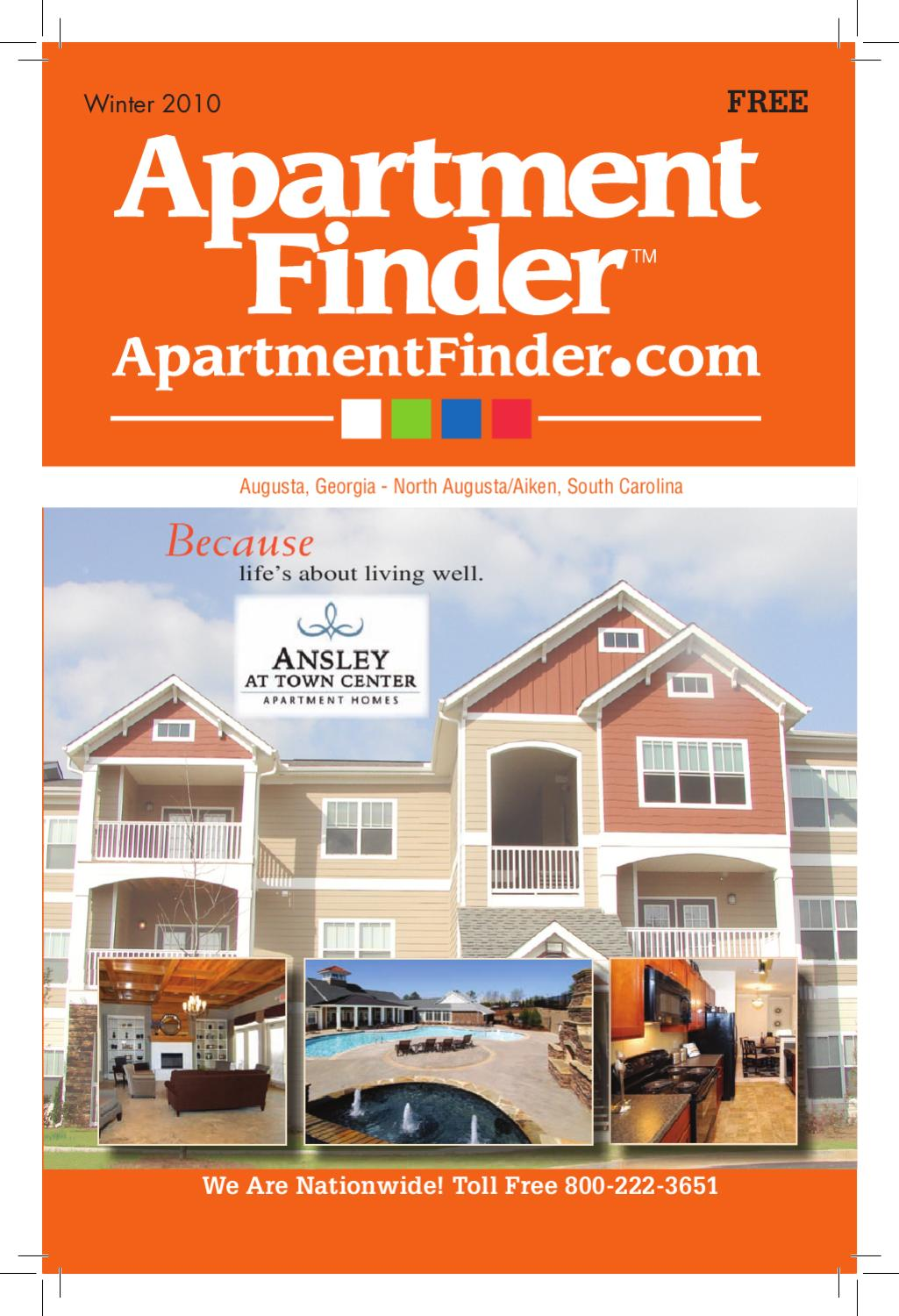 Apartment Finder by The Augusta Chronicle - Issuu