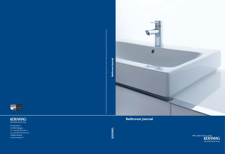 Keramag catalog 2010 by issuu - Keramag for you ...