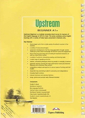 Upstream English Book