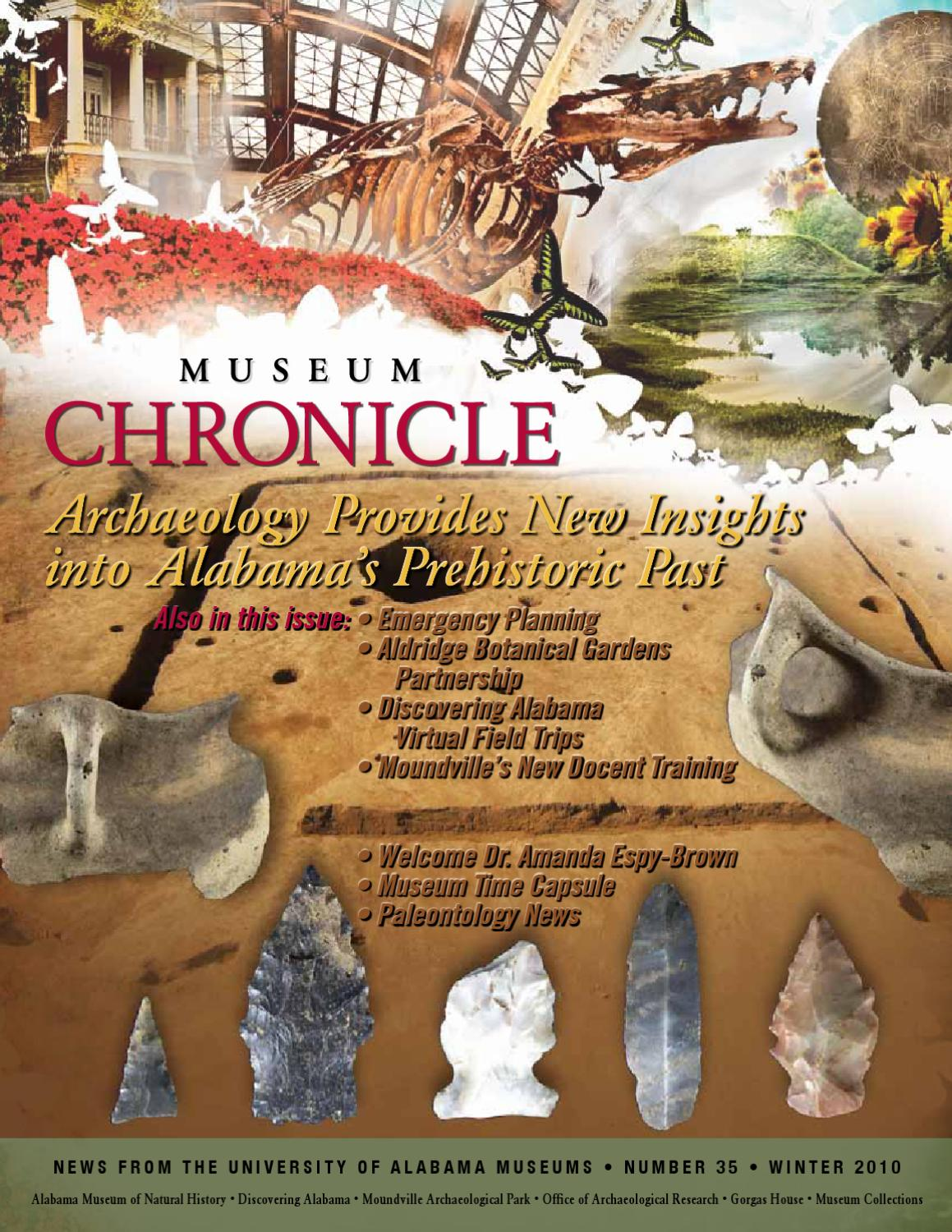 Museum Chronicle 35 by Randy Mecredy - issuu