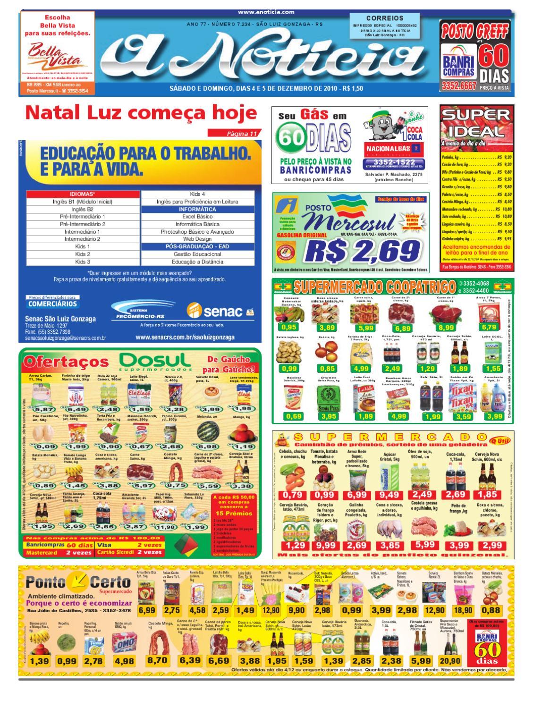 Edição dos dias 4 e 5 de dezembro de 2010 by Jornal A Notícia - issuu fe2020fe3e