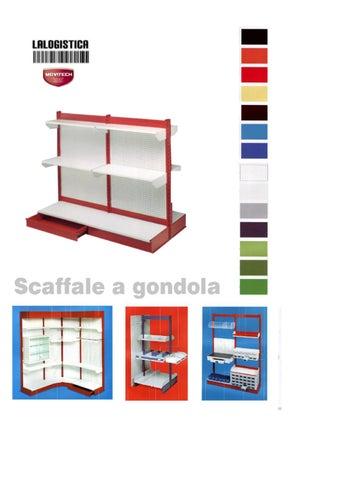 Scaffali a gondola o scaffalature a mensola by claudio for Scaffali a gondola