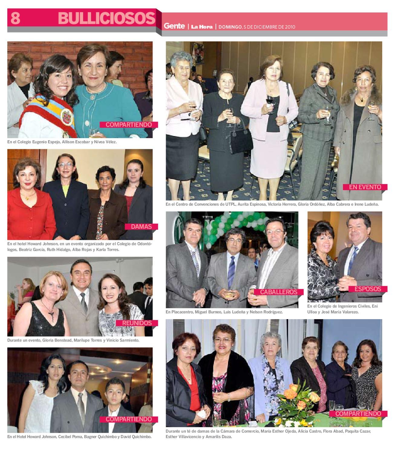 917097eb0f1 Gente 05 12 10 by Diario La Hora Ecuador - issuu