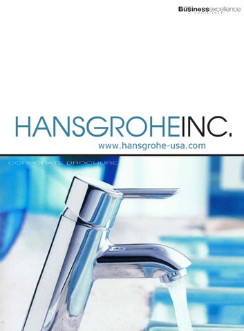 Hansgrohe_DEC10_NA_BROCH_w by Business Excellence Magazine - issuu