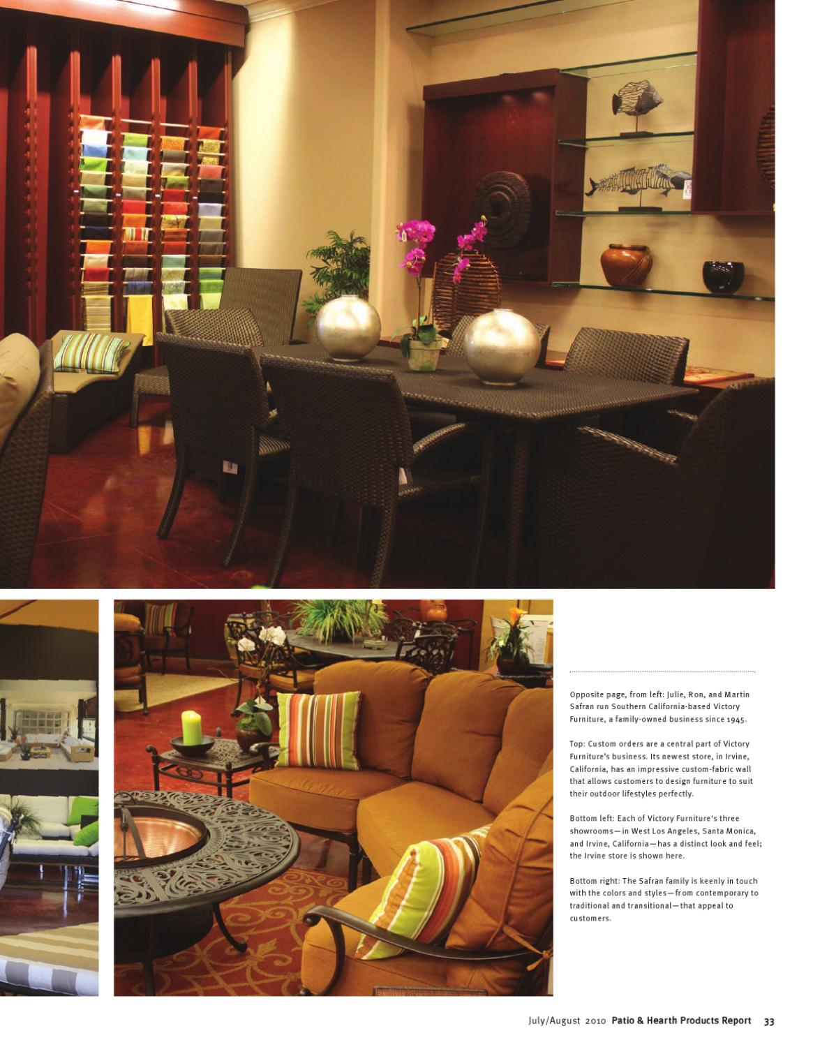 Patio Amp Hearth Products Report Jul Aug 2010 By Peninsula Media Issuu