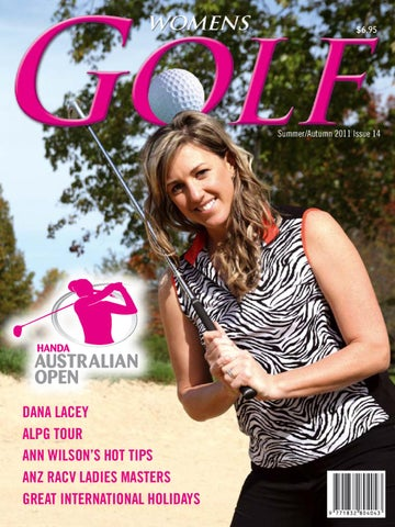 ad192100 Womens Golf Magazine Summer/Autumn 2011 Issue 14 by Ladies in RACING ...