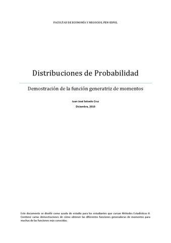 Demostraciones Estadísticas by Juan Jose Salcedo Cruz - issuu