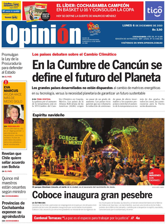 periodico opinion 6 de diciembre by Diario Opinión - issuu