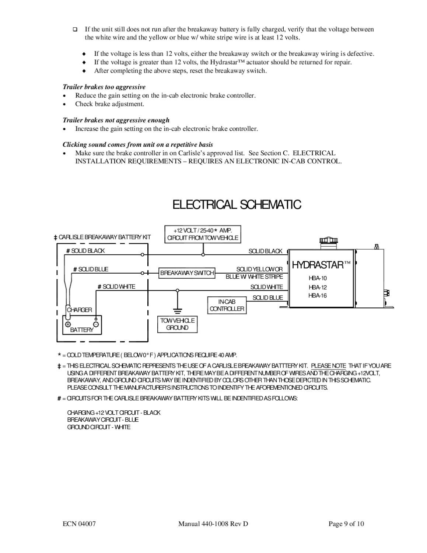 Breakaway Wiring Schematic Trailer Breakaway Switch Wiring Diagram