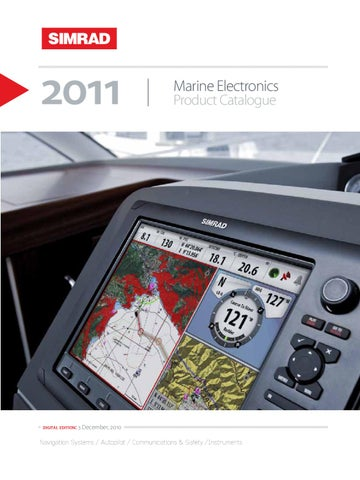 simrad 2011 catalogue by roland silluta issuu rh issuu com