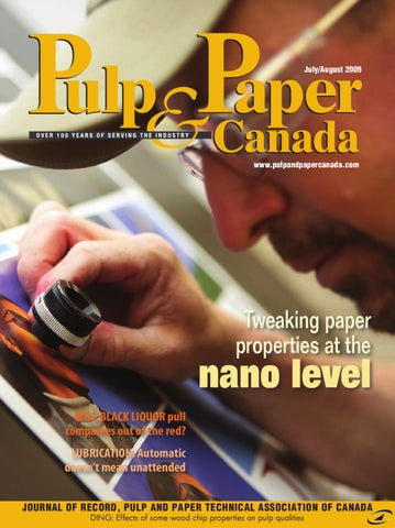 Pulp & Paper Canada July/August 2009 by Annex Business Media