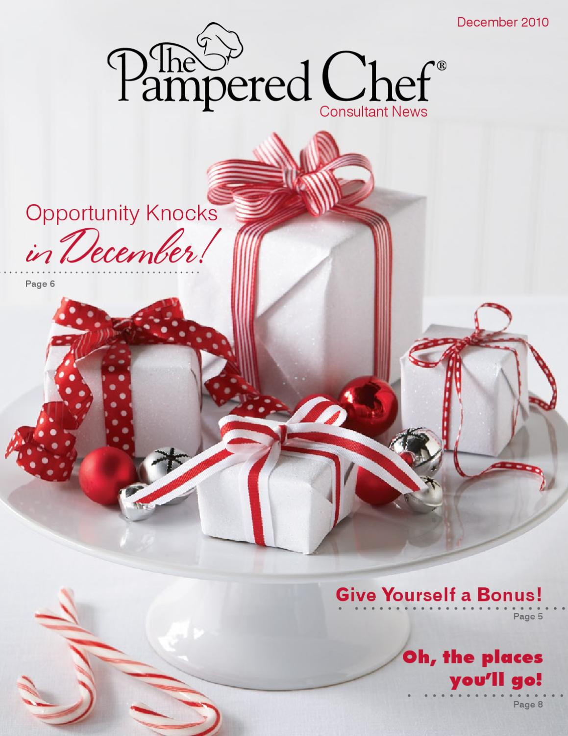 December Pc News By The Pampered Chef Ellowyn Isaacson Issuu
