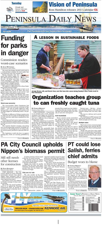 6dce3b4f7d PDN 12 07 2010 J by Peninsula Daily News   Sequim Gazette - issuu