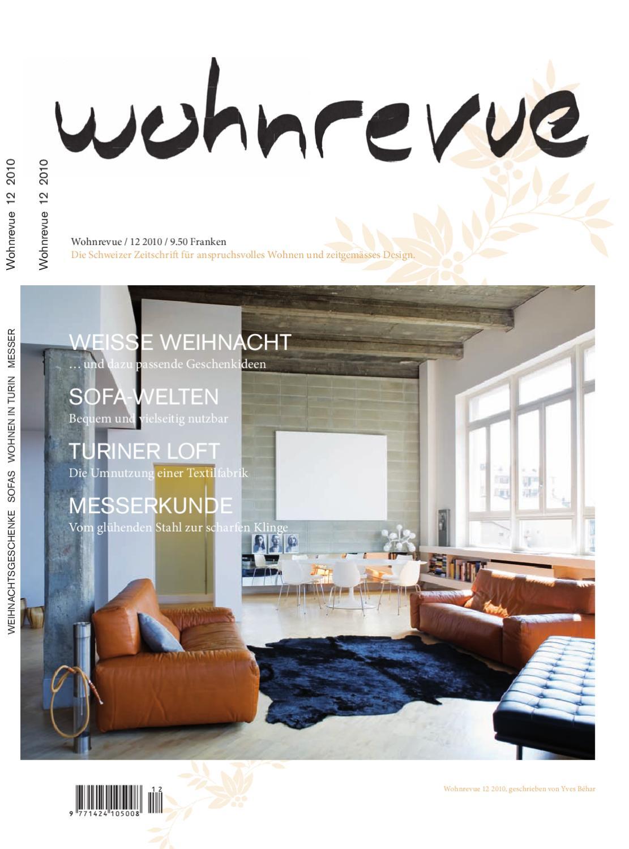 loft wohnung buhne gestalterische kreativitat, wohnrevue 12 2010 by boll verlag - issuu, Design ideen