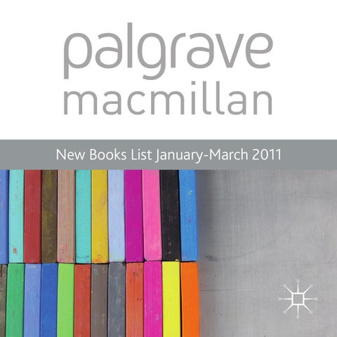New books list january march 2011 by macmillan international higher page 1 fandeluxe Gallery