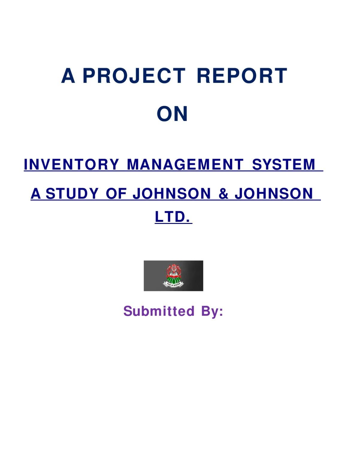 Research on inventory management