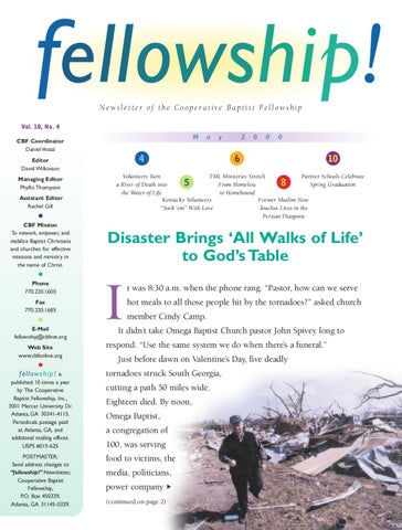 2000 May By Cooperative Baptist Fellowship Issuu