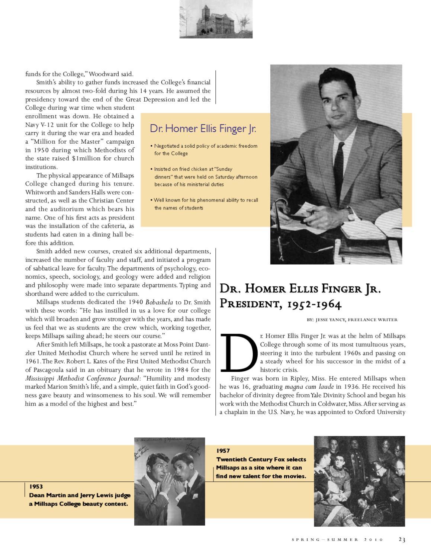 Spring-Summer 2010 Millsaps Magazine by Millsaps College - issuu