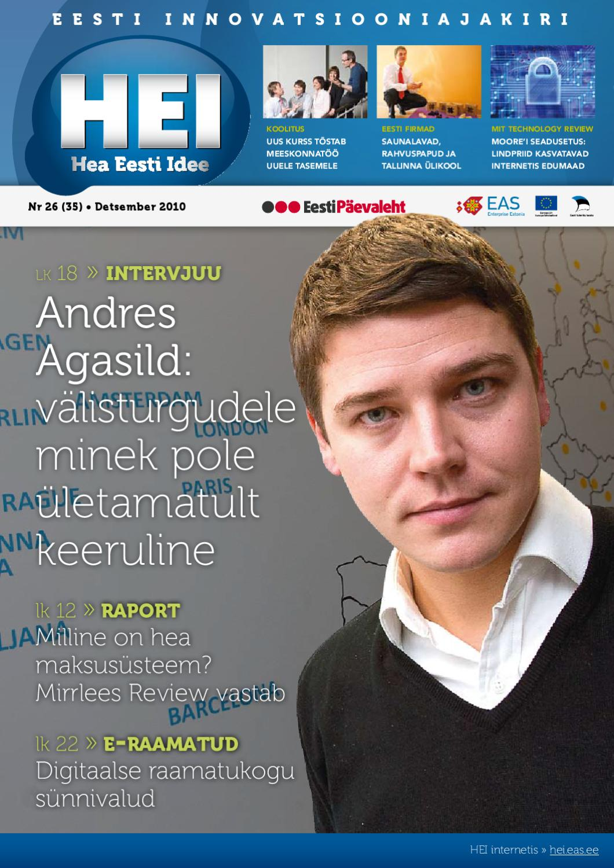 68e0d21fe54 HEI 2010 12 by EAS, Enterprise Estonia - issuu
