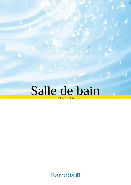 Tarif Salle De Bain Sarodis 2011 By Sarodis Issuu