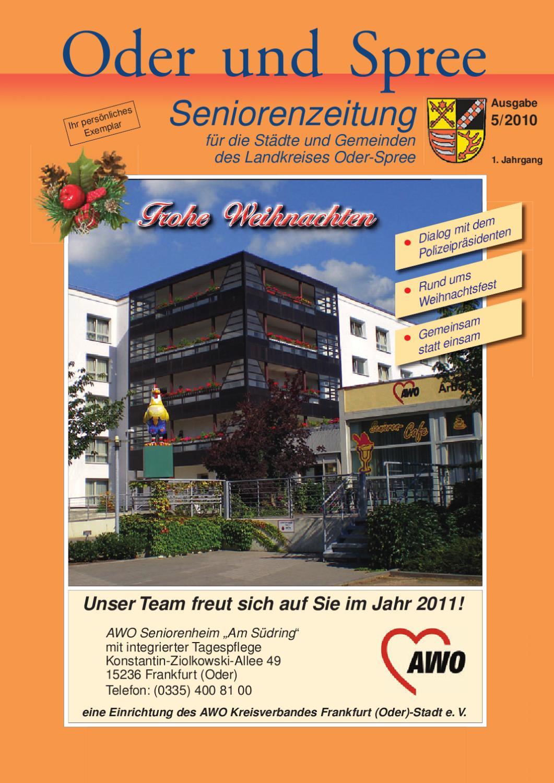 Seniorenzeitung Oder Spree 05/2010 by ELRO Verlag GmbH - issuu