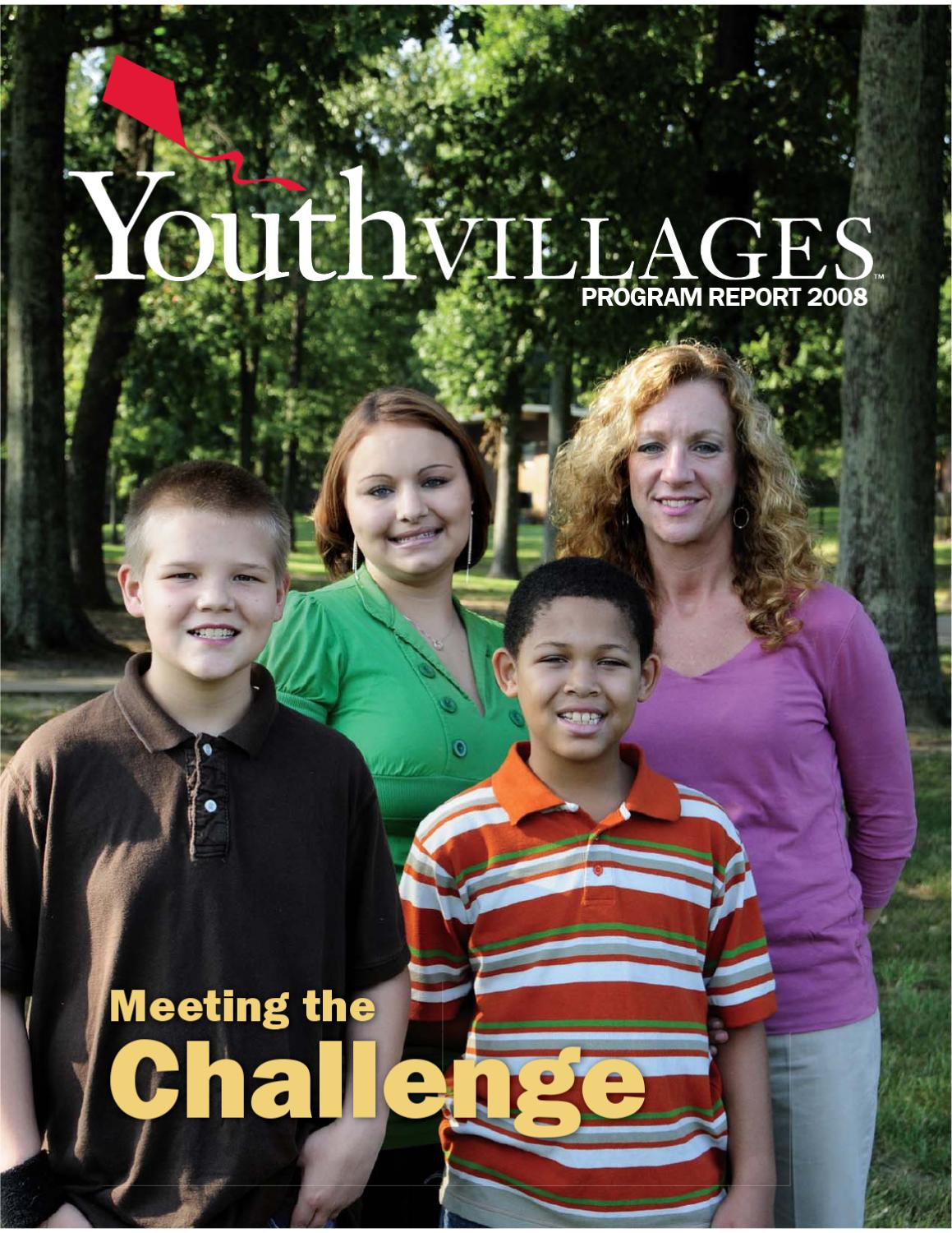 Youth Villages 2008 Program Report by Youth Villages - issuu
