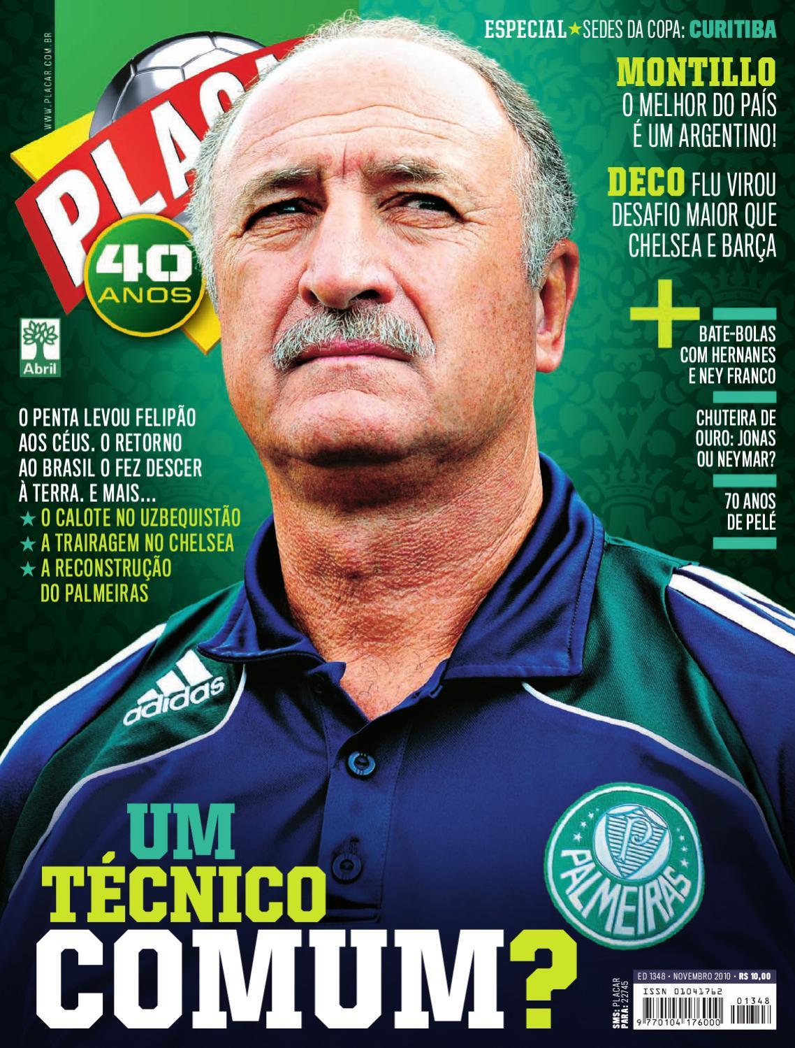 1cf11d130c Placar Edicao Novembro - 2010 by Revista Placar - issuu