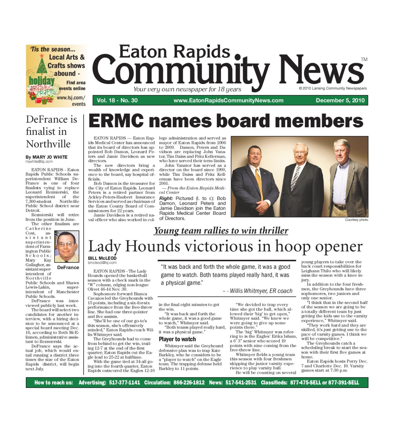Eaton Rapids Community News by Lansing State Journal - issuu