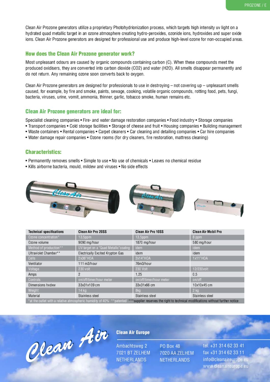 Clean Air mobil pro by Amtenco Amtenco - issuu