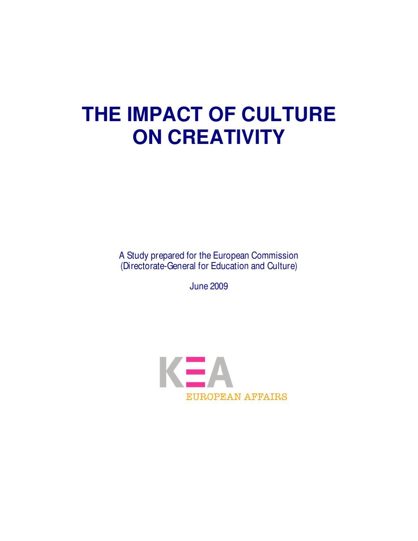 The Impact Of Culture On Creativity Part I By Giorgio Bertini Issuu Renault Vel Satis Fuse Box