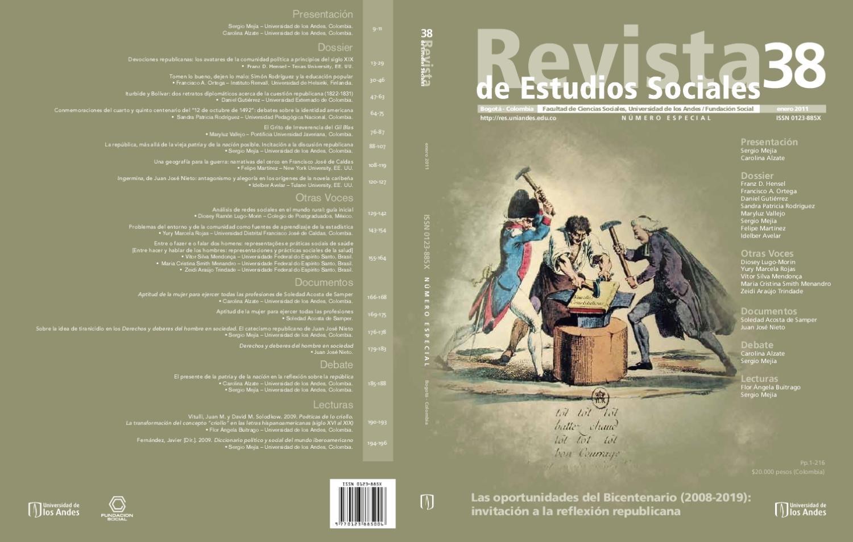 Revista de estudios sociales No 38 by Alejandro Rubio - issuu 53ab8e0477684