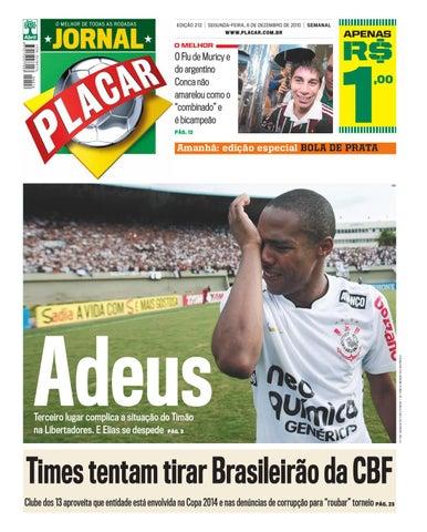Jornal Placar Edicao 212 by Revista Placar - issuu 2352b758d18c6